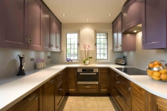 u shaped kitchen photos