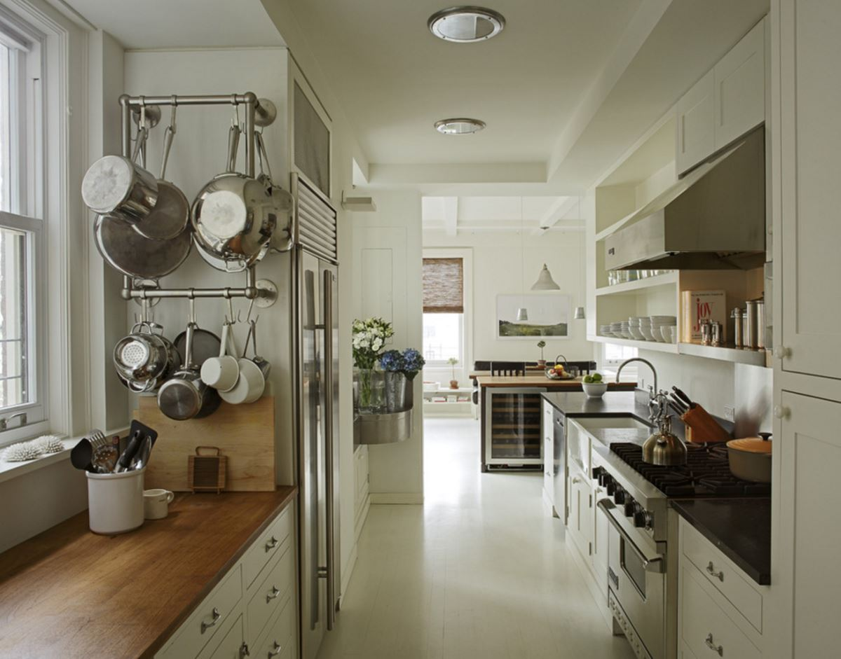 Wall-mounted-pot-racks