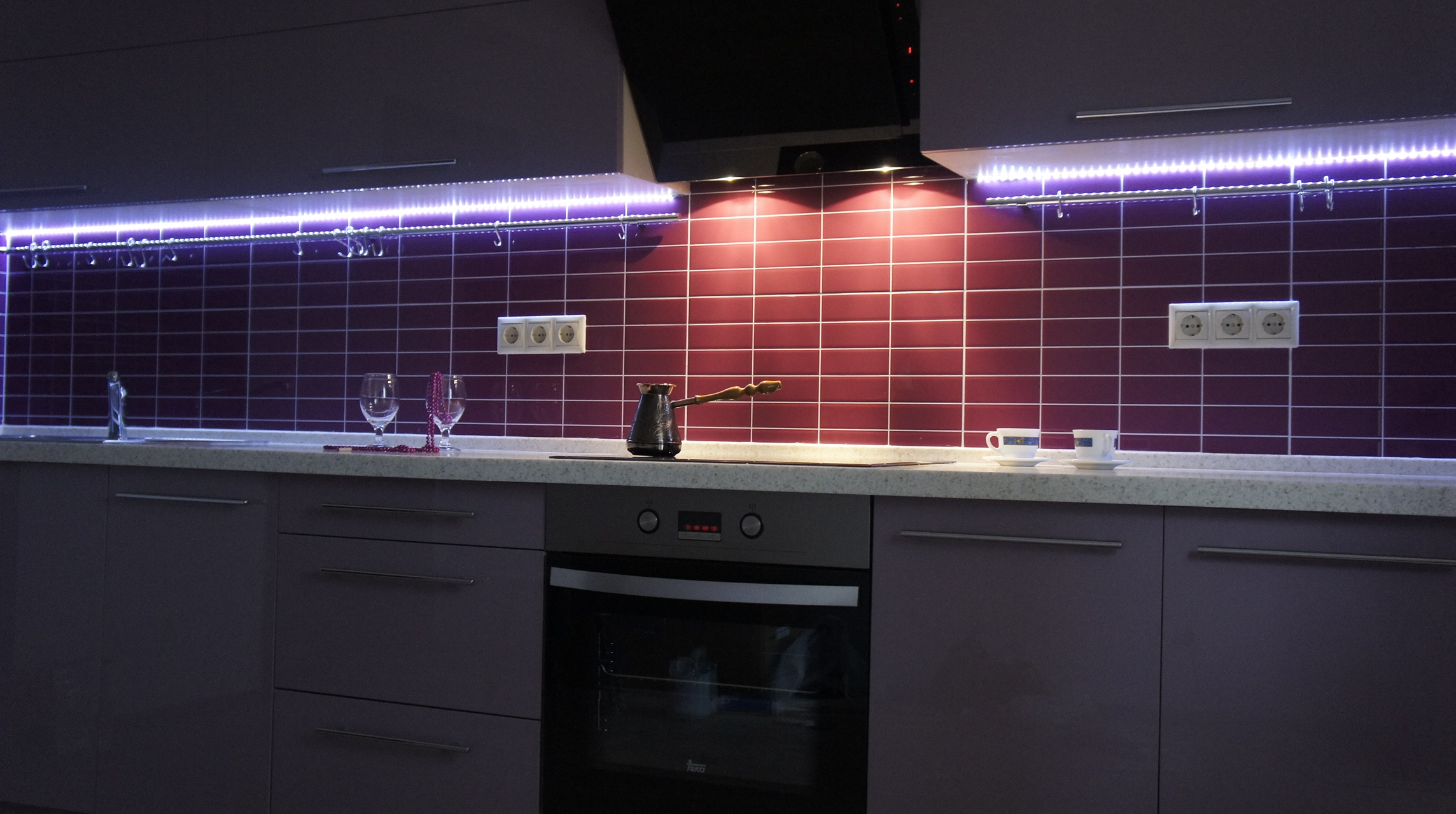 Подсветка для кухни под шкафы своими руками 78