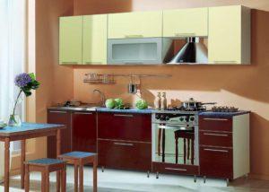 оптимальный размер кухонного гарнитура
