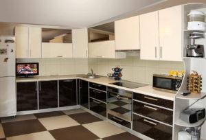 вид кухонного гарнитура