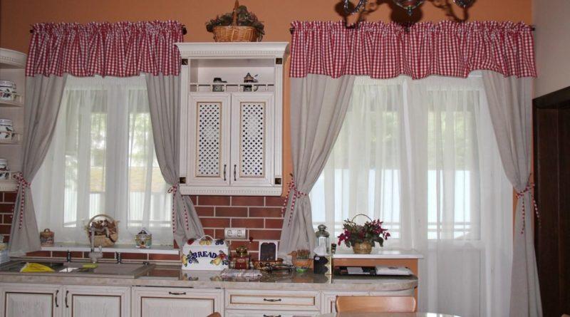 шторы для кухни с выкройками