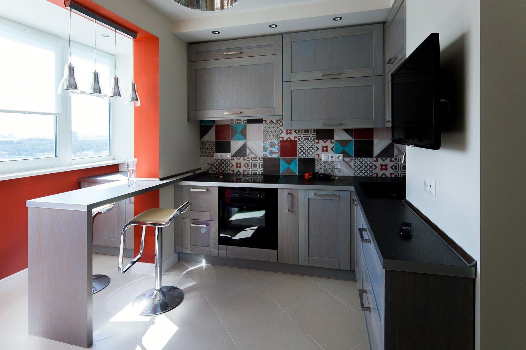 Необычные кухни дизайн фото.
